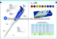 Single Channel Adjustable-volume Micropipette 5-50ul for laboratory pipette