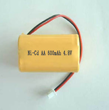Nicd AA 600mah 4.8v Rechargeable Battery