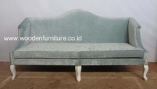 French Style Living Room Sofa Antique Reproduction Chair European Style Sofa Antique Home Furniture