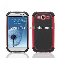 Case for samsung i9300 galaxy s3,Hybrid protective combo for samsung galaxy s3 i9300 shock proof case