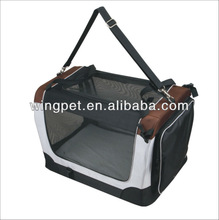 Dog Cat Pet Bed House Soft Carrier Crate Cage