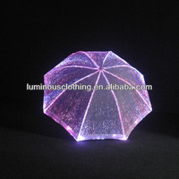 new arrival night decorative umbrellas to light up your parties