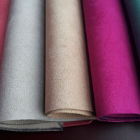 synthetic suede fabric for making shoes ( cuero sintetico para calzado)