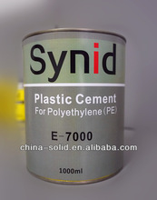 Super polyethylene adhesive/waterproof plastic glue for PC/PE