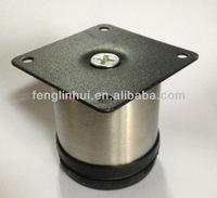 metal adjustable steel cabinet leveling feet A809