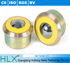 Trolley wheels robot wheels heavy duty, solid machined carbon steel body/ case hardened