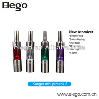 100% Original Kanger mini protank 3 Cartomizer with Dual Coils and replaceable dip tip