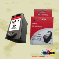 Compatible Ink Cartridge for canon ink 830 black remanufactured ink pg 830 deskjet printer pg830
