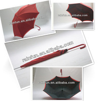 2014 New product long manual double layers lady umbrella umbrella