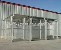 5' x 10' x 6' Heavy duty galvanized welded wire outdoor large dog kennel wholesale
