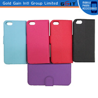 2014 Hot sell Protecter For iPhone 5S leather case Wallet case
