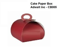 Foldable Disposable Pastry Paper Boxes