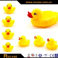 natural rubber toy pet latex baby bath toys mini rubber duck