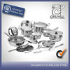 stainless steel china kazan cookware