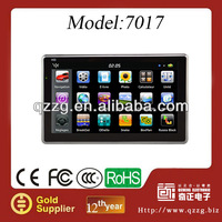 7 inch car gps navigation system with bt av fm isdb-t high resolution800*480 SDRAM128 for GPS