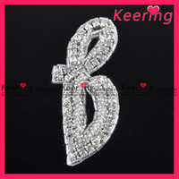 wholesale bridal hair accessories rhinestone applique for wedding dresses decoration WRA-263