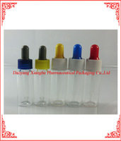 30ml white clear essential oil glass bottle,black polypropylene straight glass pipette droppers feature tamper evident seals