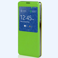 colored smart cover case for samsung galaxy note 3 PVC (OEM/ODM)