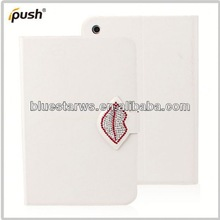 2014 wholesale for ipad mini 2 pu leather case 360 degree rotating case