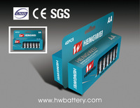 Alkaline battery LR6 AA 40/paper box