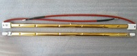 infrared heater lamps with gold coating