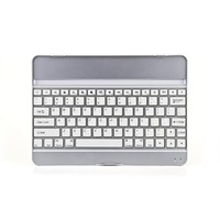 For Apple iPad 5 Air Wireless Bluetooth Aluminum Keyboard Stand Dock Case Cover