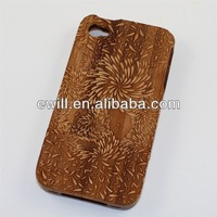 Carbon Fiber and Wood case for iphone 4 4s