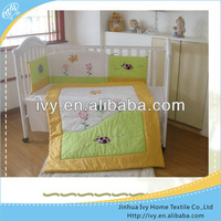 cotton baby bed linen from india