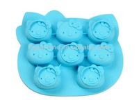 Wholesale Hello Kitty Shape Silicone Cake Decorations