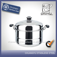 Stainless steel high quality non-stick fry pan as seen on tv steamer on sale