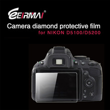 EIRMAI digital cameras screen protection film for nikon D5100/D5200 Camera LCD Screen Protector