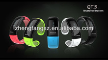 2014 most updated high quality bluetooth bracelet with fashion design wristband