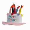 Wholesale Funny Party Crazy Fancy Carnival Happy Birthday Cake Hat MH-1832