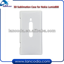 3d sublimation phone case for Nokia Lumia 800