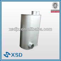 Super quiet generator muffler for YUTONG parts