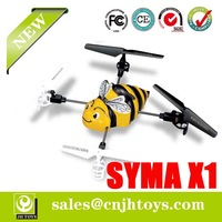 New Arriving Syma X1 2.4Ghz 4CH RC Toys Quadcopter with 3 Axis Gyro