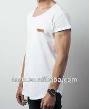 China Wholesale fit t-shirt cheap plain white bulk v-neck t shirts