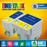 compatiable inkjet cartridge t057 t058 used Epson ME1,ME100,ME1+