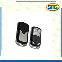 Metal case gate RF copy code remote control for door opener remote control with key blank SMG-020