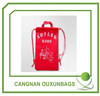 foldable polyester bag or nylon drawstring backpack