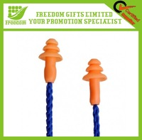 Hearing Protection Silicone Rubber Earplugs