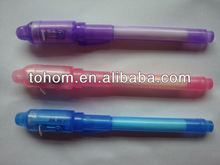 Hotselling promotional cheap price uv light secret message pen light
