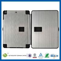C&T High quality aluminum hard shell case for ipad air