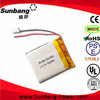 lipo battery OEM&ODM battery rechargeable 3.7v rechargeable 503040 500 mah lithium polymer battery