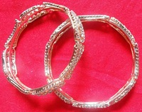 SILVER STYLISH BANGLE FOR WOMENS
