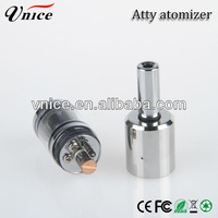 Rebuildable stainless steel & High quality patriot atomizer e-cig patriot clone / atty atomizer
