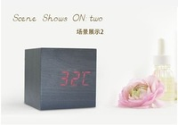 HOT SELLING WOODEN CLOCK INCLUDE USB CABLE FASHIONABLE