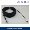 Outdoor Duple armored SC LC (twin) optical fiber cable connector