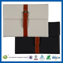 C&T Sublimation wallet magnet stand leather case for ipad mini