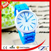 Custom printed logo silicone watches made in china fashion style watch